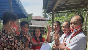 Paslon Enoniu Resmi Kukuhkan Tim Pemenang Tingkat Kecamatan dan Desa Se-Kec. Hiliserangkai