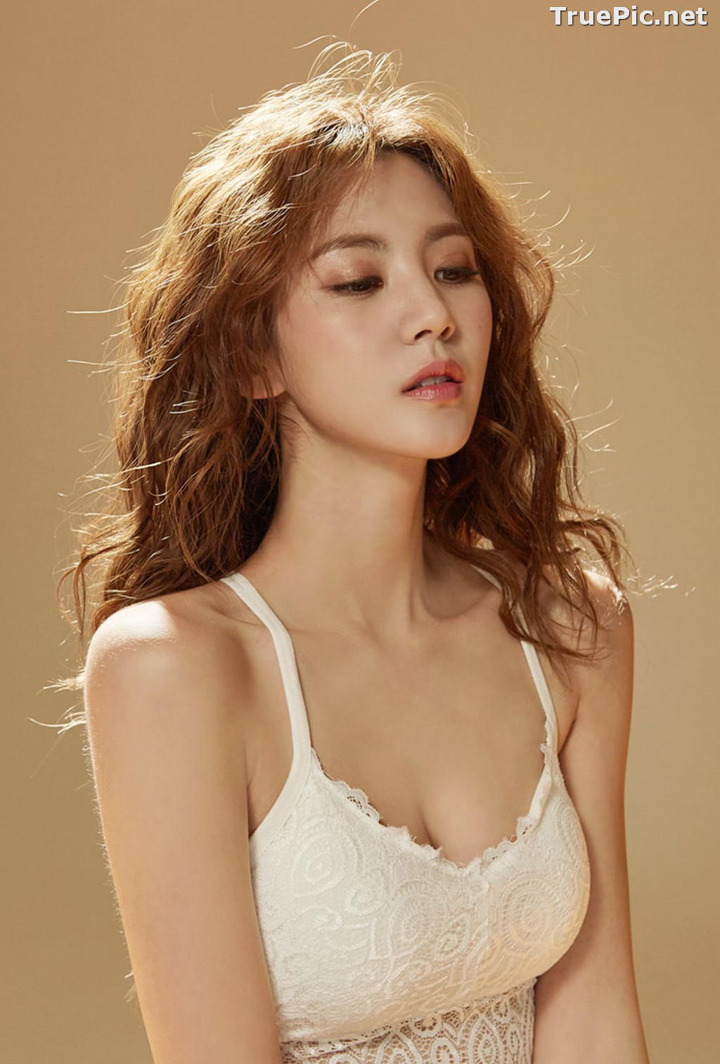 Image Korean Fashion Model – Lee Chae Eun (이채은) – Come On Vincent Lingerie #7 - TruePic.net - Picture-3