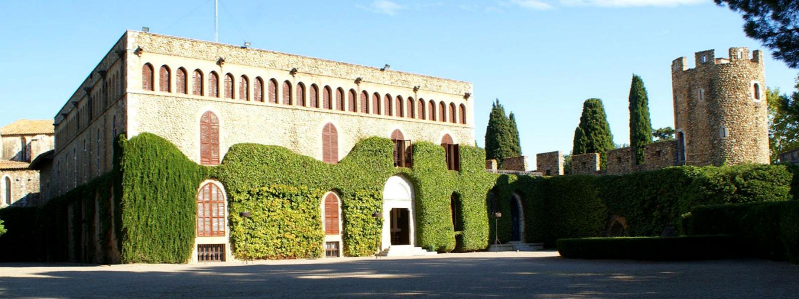 Museo del vino en el castillo de Peralada