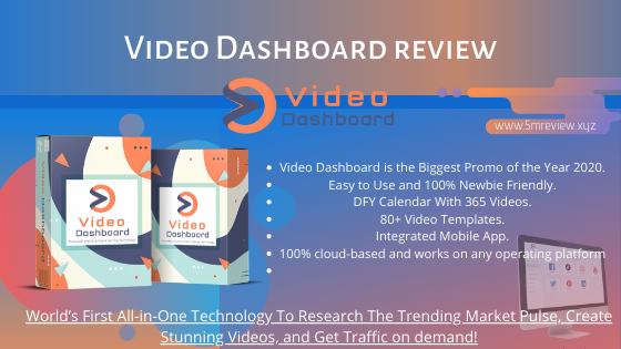 Video Dashboard Review