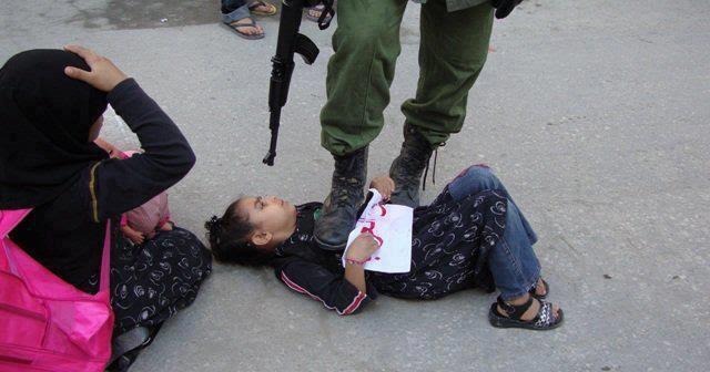 foto kejahatan zionis israel anak kecil palestina inilah info