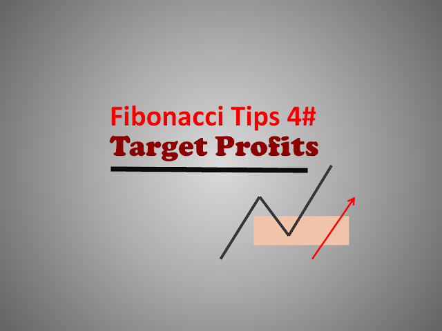 fibonacci tips target profits level