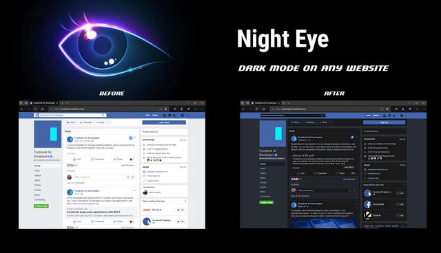 أضافة لمتصفح Windows 10 Edge تجلب المظهر المظلم