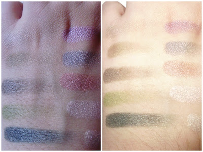 beautiful green eyes nyx swatches