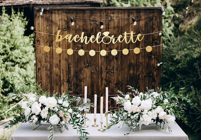 If you're planning a surprise party, remember that the bride's calendar is typically cluttered-Weddings by K'Mich Philadelphia PA