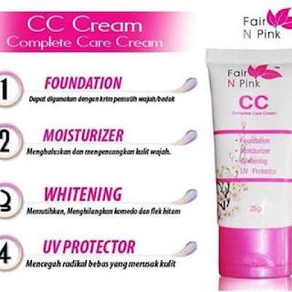 Harga Fair N Pink CC Cream Untuk Wajah