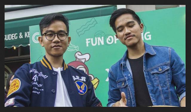 Dua Putra Jokowi Kaesang dan Gibran Maju Pilkada