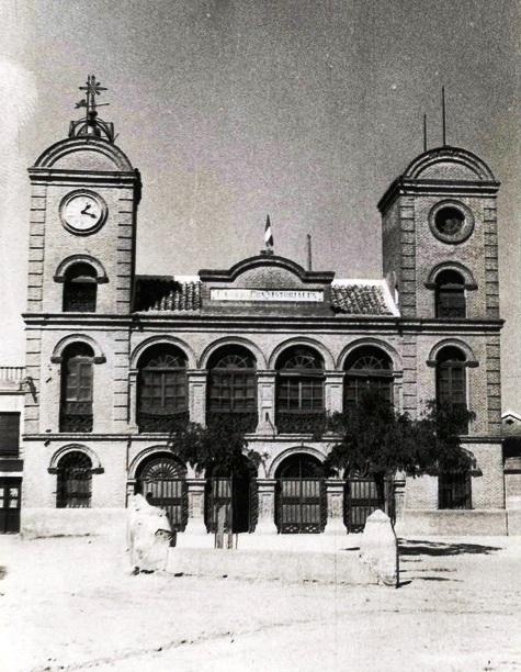 Escalonilla, Casa Ayuntamiento, construido en 1881 (Diputación de Toledo)