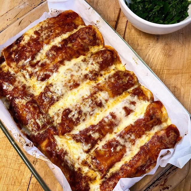 leftover turkey enchilada gluten free