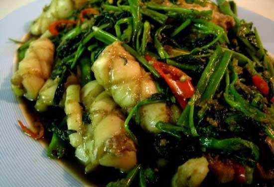 Resep Masakan Cumi Cah Kangkung Khas Jambi
