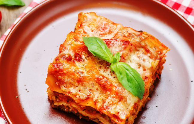 mr cook's bolognese lasagna at monsieur cuisine
