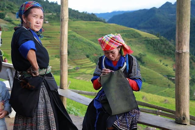 Mu Cang Chai is bustling during the harvest season 4