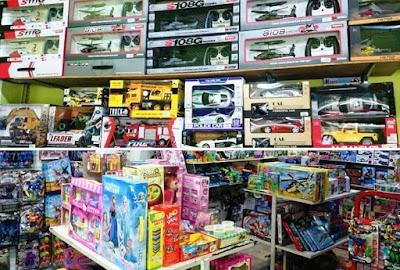 toys and hobby shop Jogja City
