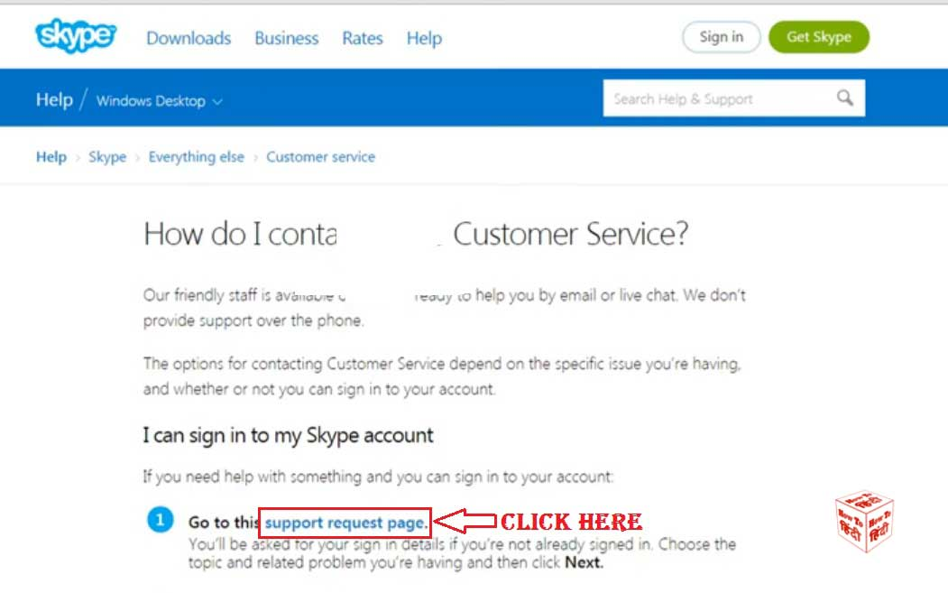 How to delete Skype account permanently on Windows Computer ?
