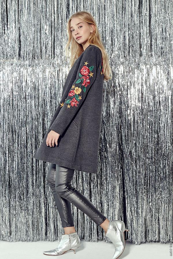 Tapados invierno 2018 moda mujer.