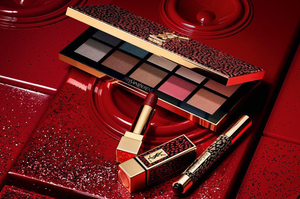 YSL Maquillage Noel 2020 Palette Fards