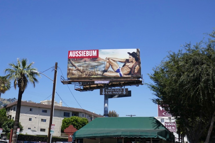 AussieBum underwear Summer 2019 billboard