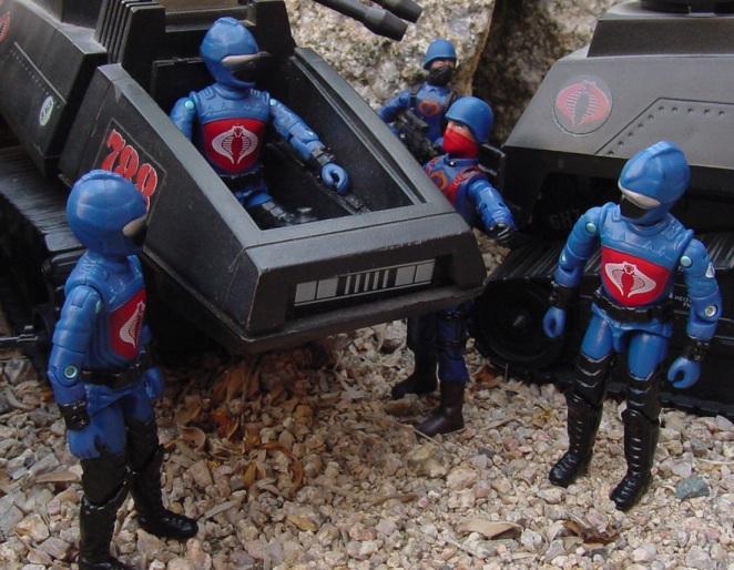 2003 Unproduced Wal Mart Sky Patrol Hiss Driver, Rip It, 1983 Hiss Tank, 1984 Scrap Iron, 2004 Cobra Trooper, Officer, Rare G.I. Joe figures, Midnight Chinese