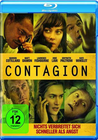Contagion 2011 BluRay 800Mb Hindi Dual Audio 720p ESub