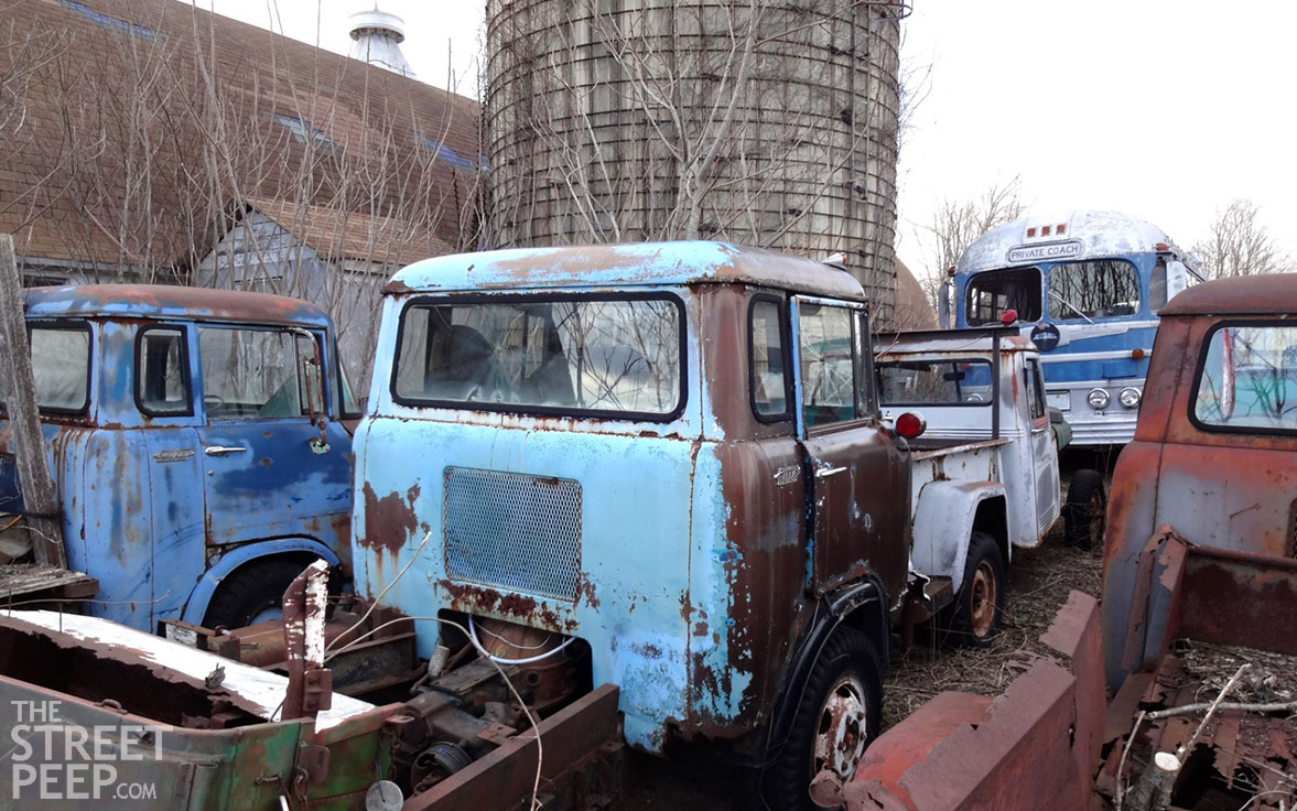 1959 Willys Jeep Fc170 Forward Control 1 Ton 4x4 Stakebed Truck For