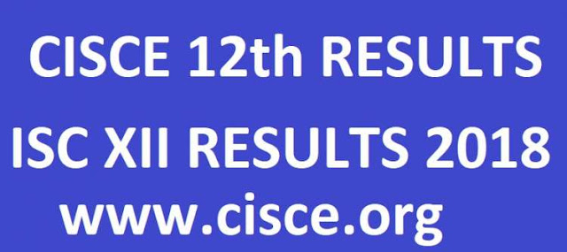 ISC 12th Result 2018 - CISCE Class XII Results Name Wise