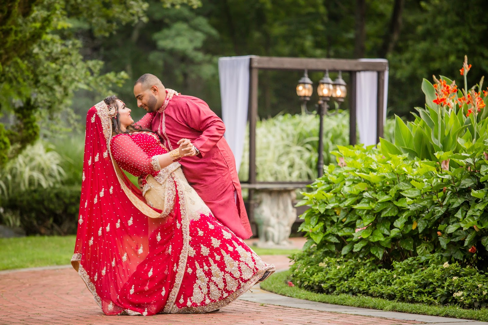 Colorful indian wedding photographer New York