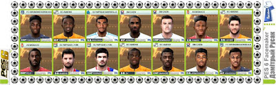 PES 6 Facepack Ligue 1 2018-2019 [1583 - 1596] by Дзмітрый Русак