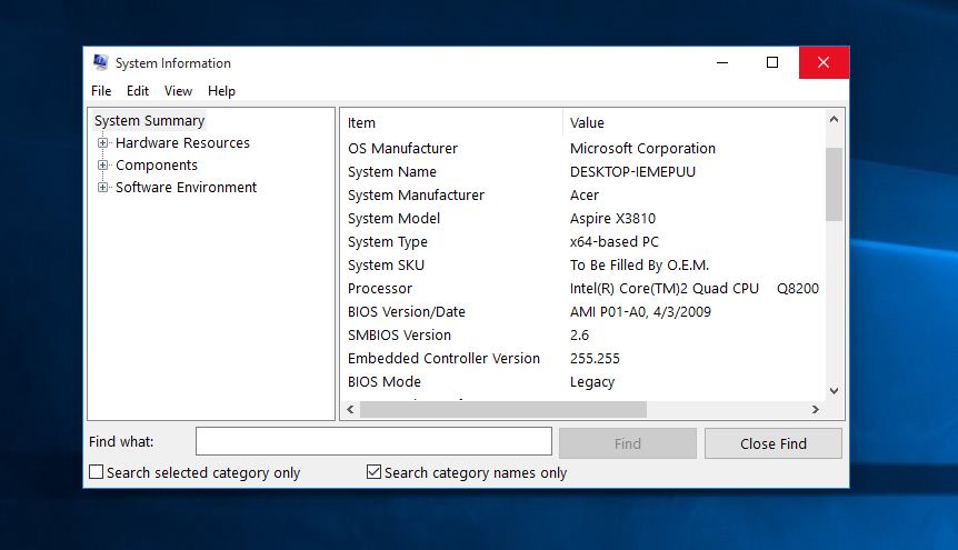 Windows 10 How To Check Ram And System Specs Techddictive