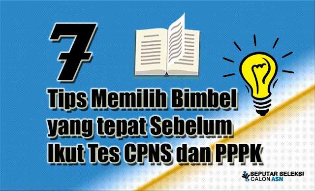 Tips Memilih Bimbel yang tepat Sebelum Ikut Tes CPNS dan PPPK