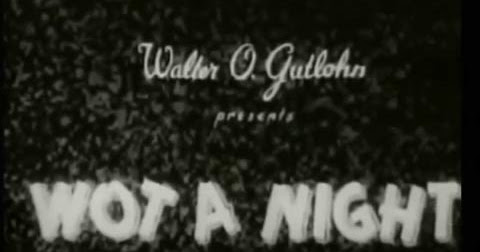 Countdown to Halloween: Wot a Night (1931)