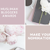 Muslimah Bloggers Awards 2020 - Nominations Are Now Open.