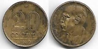 20 centavos, 1949