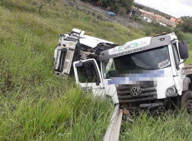Vitória da Conquista: homem morre em acidente na BR-116