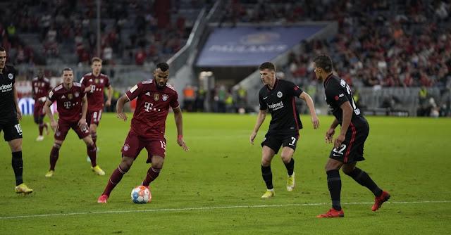 ملخص اهداف مباراة بايرن ميونخ وأينتراخت فرانكفورت (1-2) الدوري الألماني