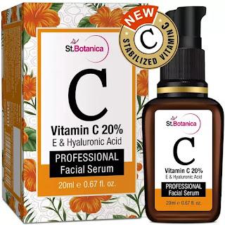 StBotanica Vitamin C 20% Vitamin E and Hyaluronic Acid Facial Serum