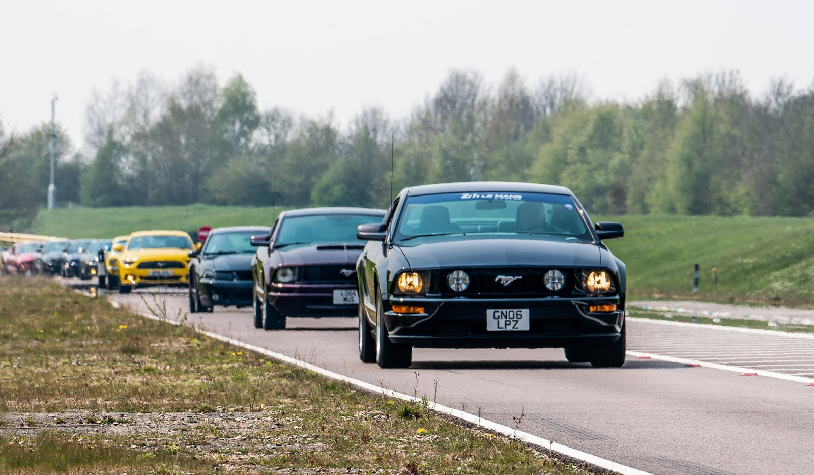 And with fans around the world fuelling the passion including the man with 5000 mustangs and the mustang man the celebrations look set to continue for
