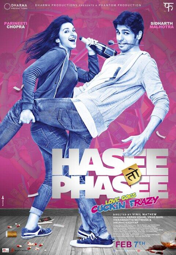 Hasee Toh Phasee (2014) Movie Poster