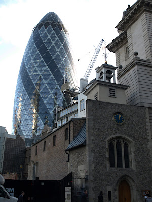 may the real gherkin {office building} rise up
