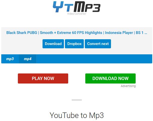 Cara Download Video Youtube Menggunakan Situs YTmp3