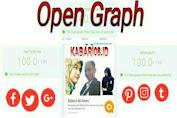 Langkah Mudah Buat Open Graph Google plus Facebook dan Twitter