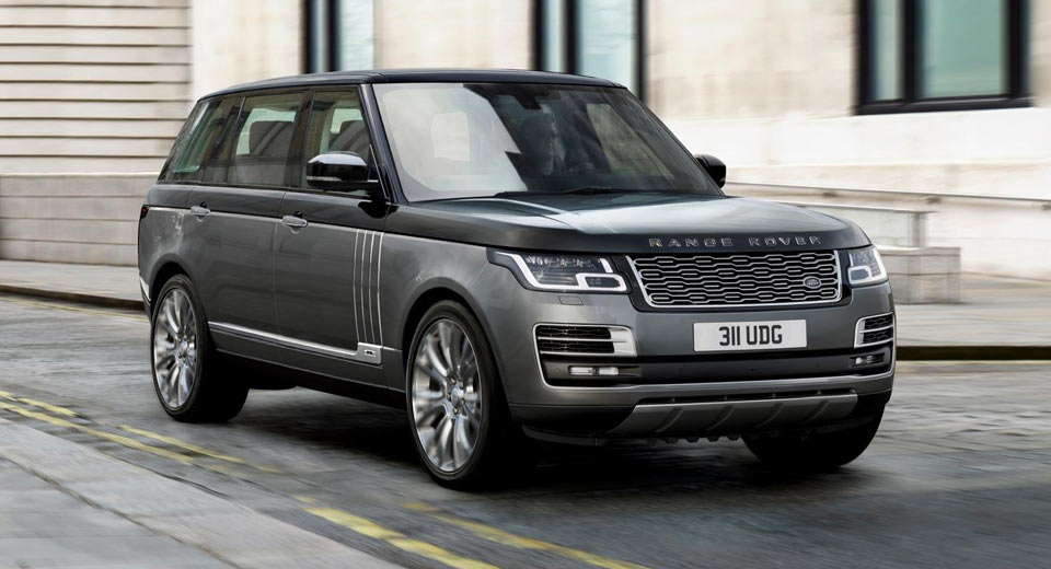 Range Rover with First Class cabin revealed