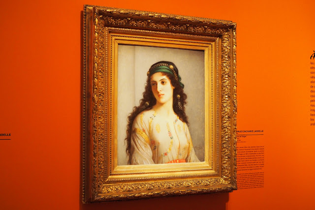 Musée Marmottan Monet - L'orient des peintre - La Juive de Tanger - Landelle