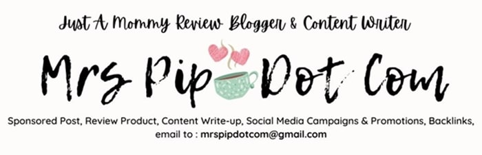 Mrs Pip - Mommy Review Blogger