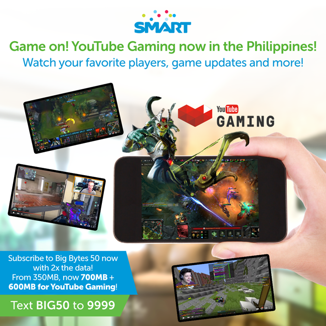 YouTube Gaming now in the Philippines