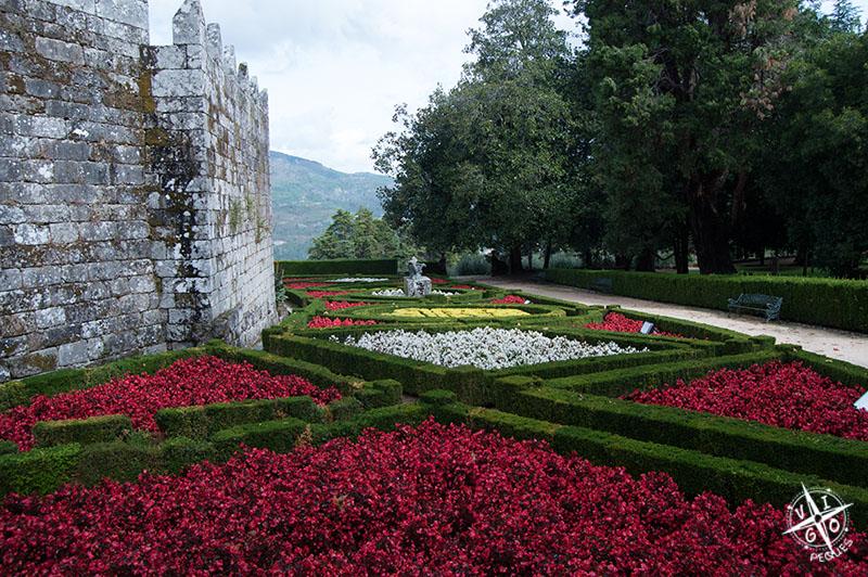 Jardines del Castillo de Soutomaior