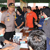 Polda Banten, lakukan Kegiatan Pendampingan Psikologi Korban Tsunami.