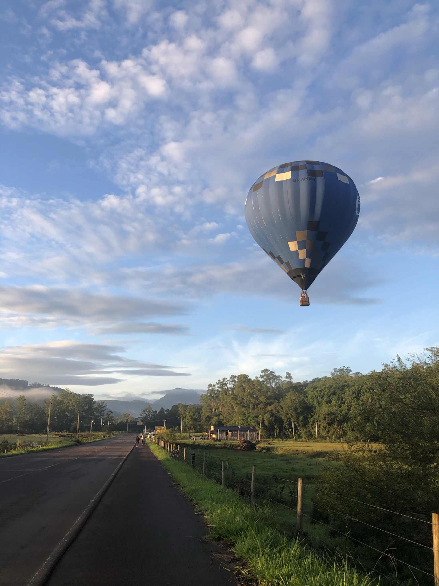 voos de balão