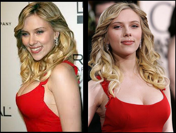 Foto de Scarlett Johansson pelada