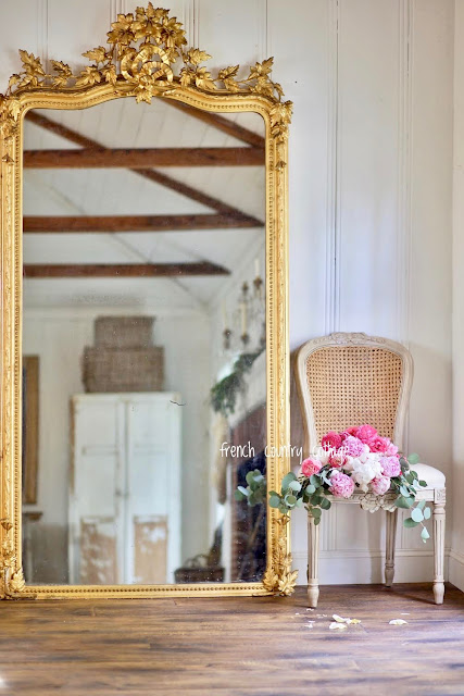 18 Ornate French Vintage Style Mirrors for layering