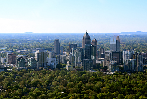 Helicopter Tour of Atlanta | Photo: Travis S. Taylor